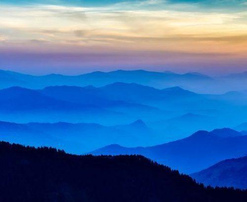 montañas meditacion